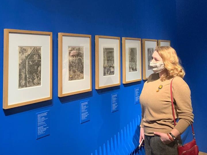 Выставку гравюр Дюрера в Историческом музее сопроводили звуками