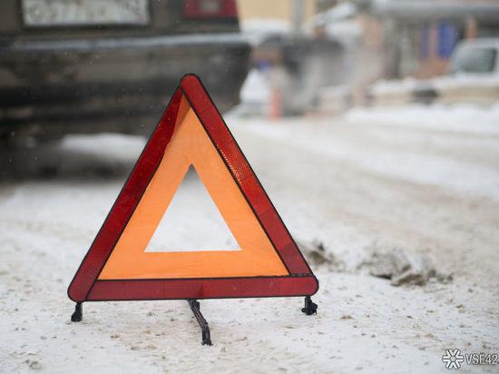 В Кемерове рядом с цирком в результате ДТП образовалась пробка