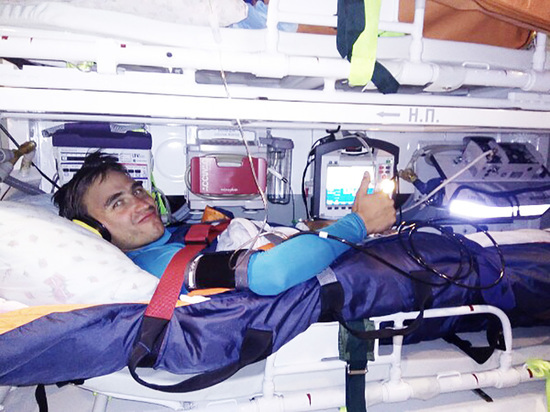 Альпинист из Улан-Удэ: «Если бы я был в горах один, то пришлось бы оторвать себе ногу»