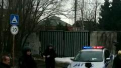 Видео у дома стрелка в Подмосковье: силовики запустили дрон
