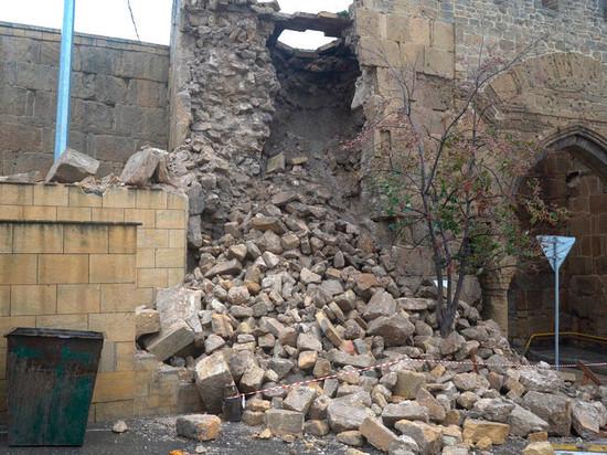 70 млн выделено на реставрацию крепостной стены в Дербенте