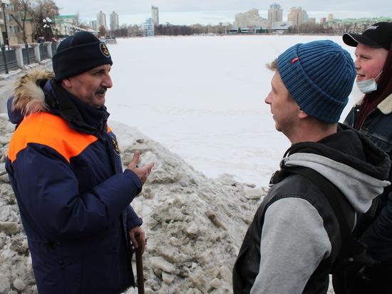 В Свердловской области составлено уже 82 протокола за выход на лед