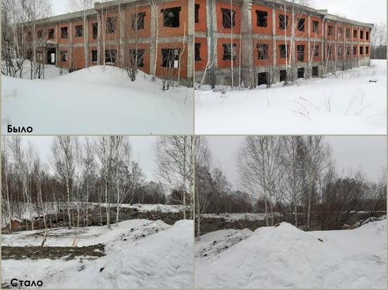 Кузбасские власти намерены снести к 300-летию Кузбасса все бесхозные аварийные здания на территории региона