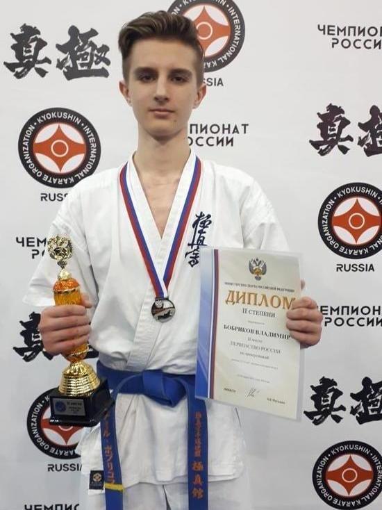 Ставрополец получил бронзу в киокушинкай каратэ на первенстве России