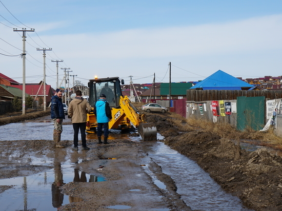 В Иркутском районе продолжается ликвидация последствий подтопления талыми водами
