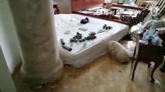 В доме вешкинского стрелка Барданова нашли арсенал: кадры с места