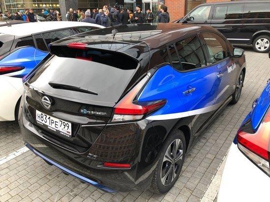 В Москве предложили создать парковки для электрокаров