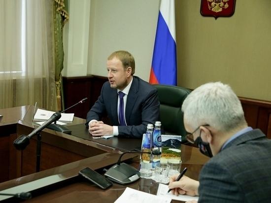 Виктора Томенко проинформировали о задержании его представителя в АКЗС