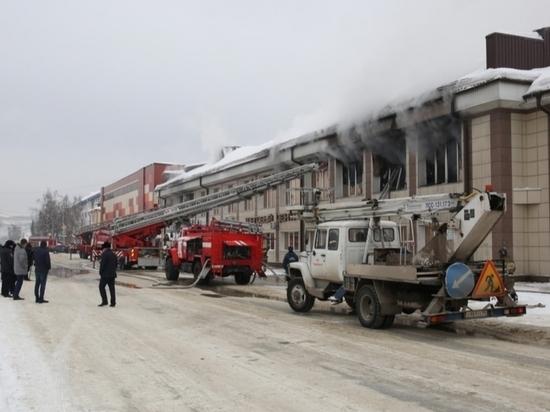 Пожар в алтайском ТЦ произошел из-за смартфона