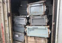 С полигона «Серебристый» вывезли 7 контейнеров отходов под видом сорбентов