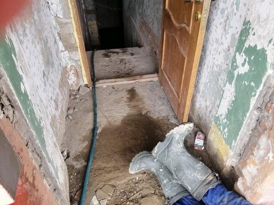 В Иванове мертвого мужчину нашли в полузатопленном подвале ремонтируемого здания