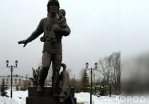 В парке Йошкар-Олы установлен памятник пожарным и спасателям