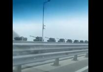В Крыму заметили российские танки: «Были провокации со стороны Украины»