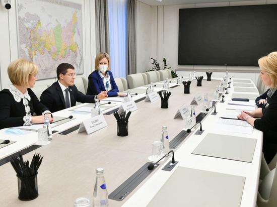 Кочевое образование глава Ямала обсудил с представителями Совфеда и Минпросвещения РФ