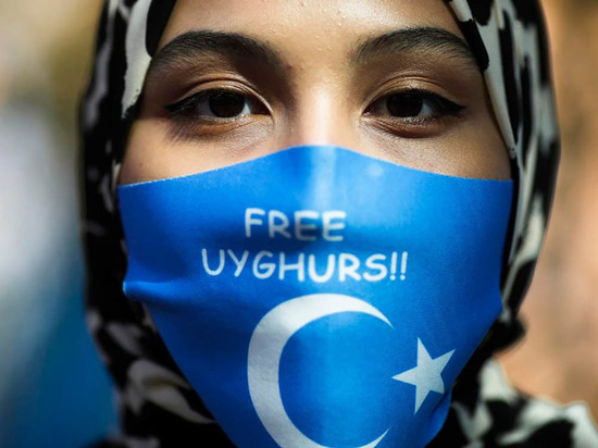Уйгуры в Турции вышли на протесты против визита министра иностранных дел Китая