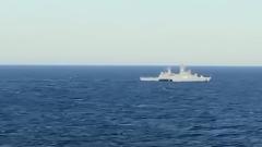 """В зоне строительства """"Северного потока-2"""" появились иностранные военные: видео"""