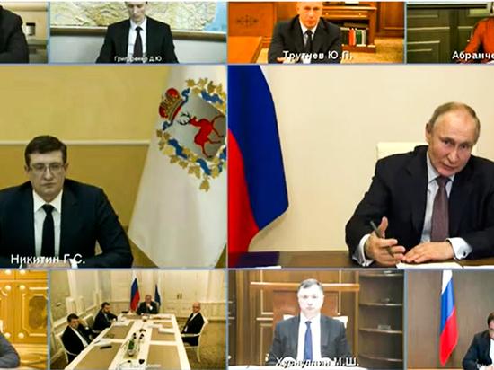 Глеб Никитин представил президенту программу долгосрочного развития