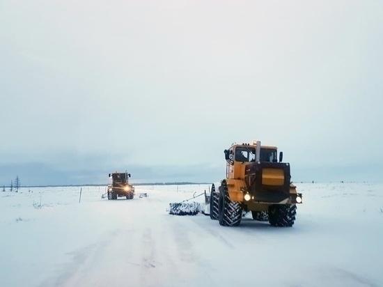 Движение по зимнику в сторону Яр-Сале снова открыли