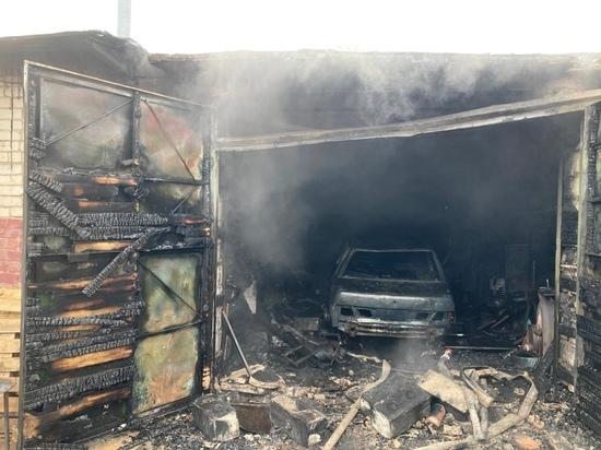 В Сафоново сварочные работы в гараже закончились полным уничтожением автомобиля
