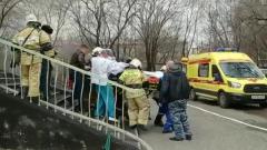 В Благовещенске хирурги провели операцию в горящем здании больницы