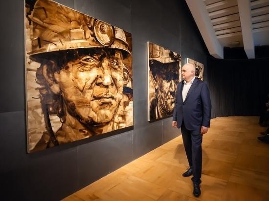 Картину кемеровского художника передали в дар Третьяковской галерее