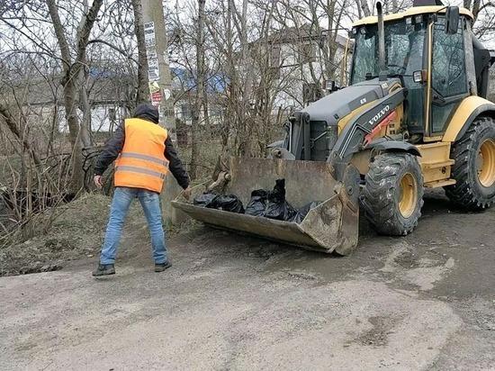 В Ставрополе очищают береговые линии речек