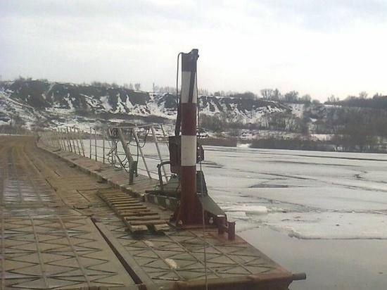 Из-за паводка в Шацком районе закрыли движение по мосту у села Лесное Ялтуново
