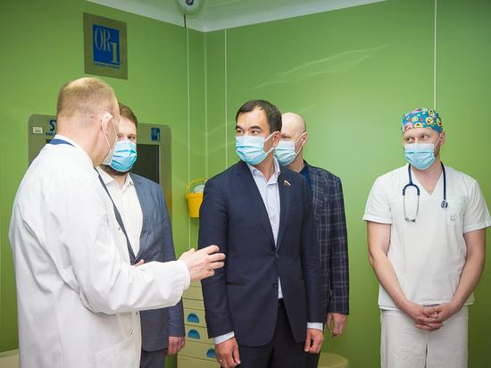 Сергей Тен: Новый наркозно-дыхательный аппарат позволит иркутским докторам проводить уникальные операции