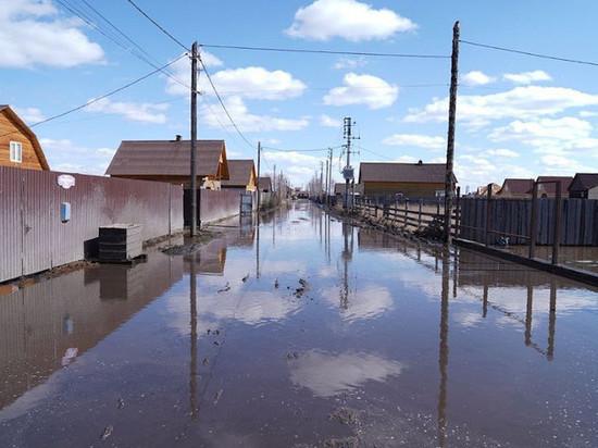 В Хомутово число подтопленных участков выросло до 176