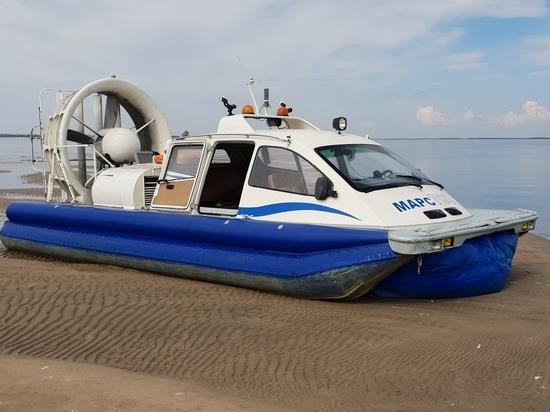 Спасатели в Кинешме обзавелись катером на воздушной подушке