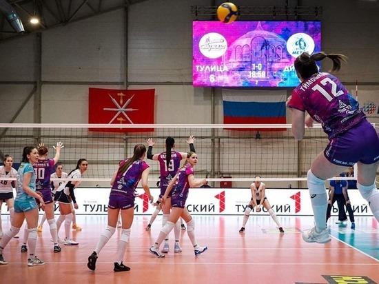 «Тулица» одержала победу над «Динамо-Метар» из Челябинска