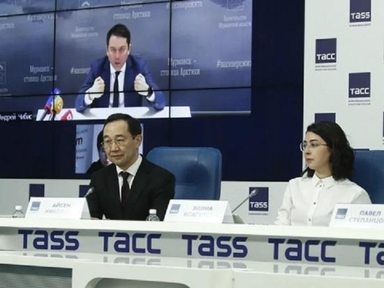 Айсен Николаев принял участие в обсуждении экономических последствий пандемии