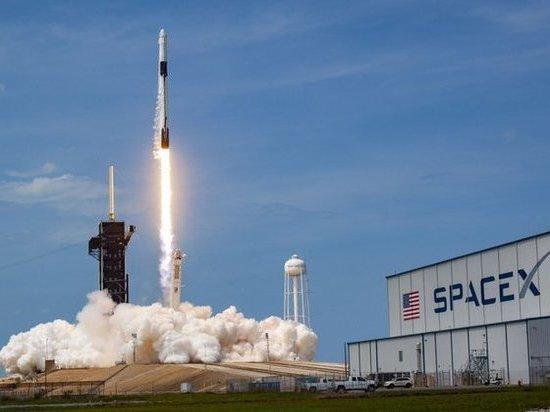 Обломок ракеты Falcon 9 компании SpaceX рухнул на ферму в Вашингтоне