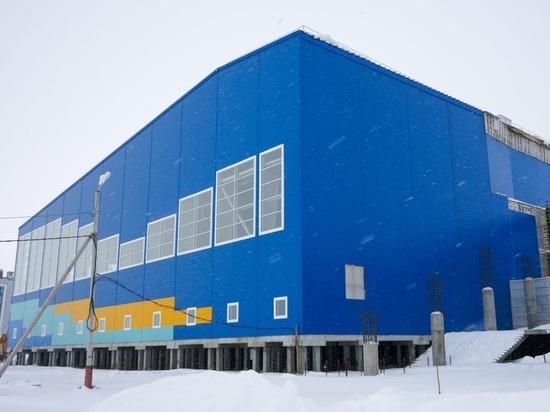 Долгожданный спорткомплекс «Ямал-Арена» в Салехарде достроят в 2023 году