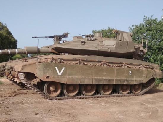 Новые танки Израиля оказались уязвимыми от ударов палестинских дронов