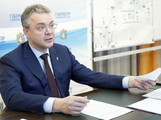 Ставропольский губернатор «попался» на мойке стекол