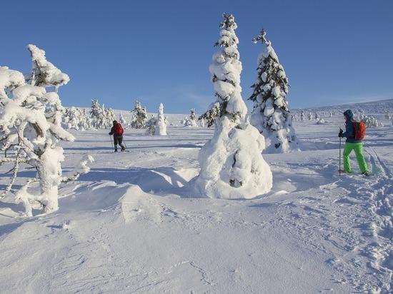 Бегом по снегу в шерстяных носках