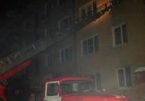 Из горящего дома в Ангарске эвакуировали 48 человек, в том числе 12 детей