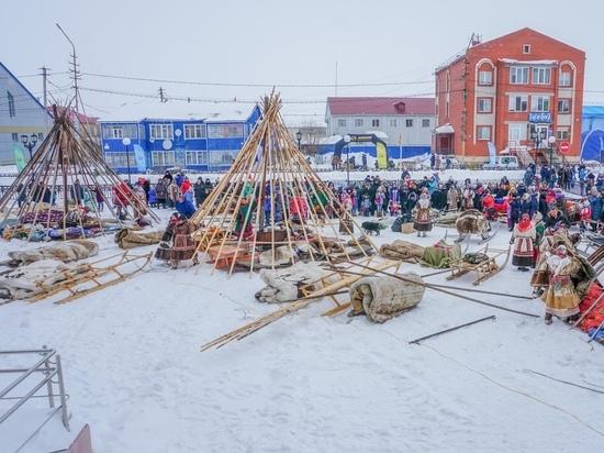 Конкурс чумов, прыжки через нарты и ярмарка: в Яр-Сале празднуют День оленевода