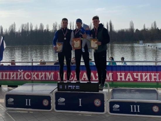 Гребец из Волжска завоевал серебро на Всероссийских соревнованиях