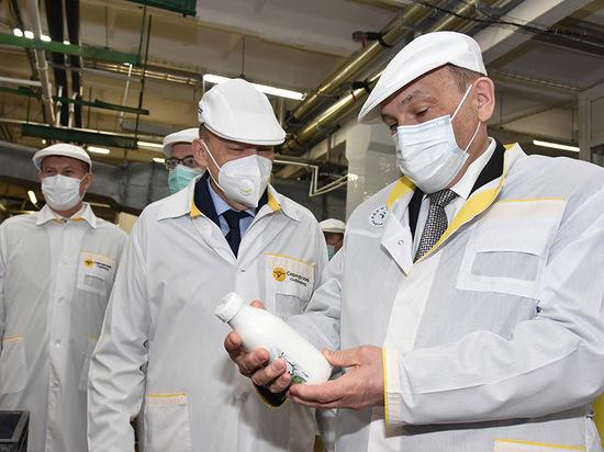На Сернурском сырзаводе в Марий Эл ведется модернизация производства
