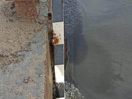В Туле за сутки уровень воды в Упе поднялся на один метр