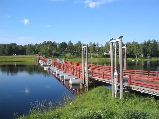 С 5 апреля в Томской области запрещен проезд по понтонному мосту через Яю