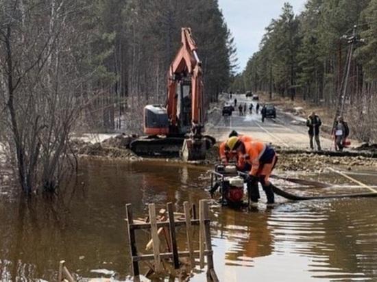За сутки талые воды подтопили ещё 16 участков в иркутских садоводствах
