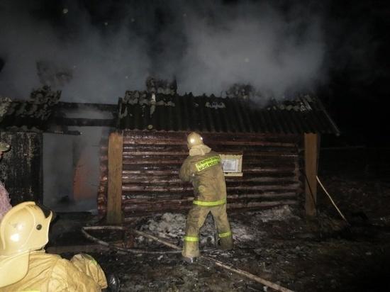 В выходные дни в Ивановской области чаще горят бани
