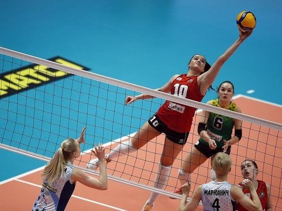 «Уралочка-НТМК» осталась без медалей чемпионата России