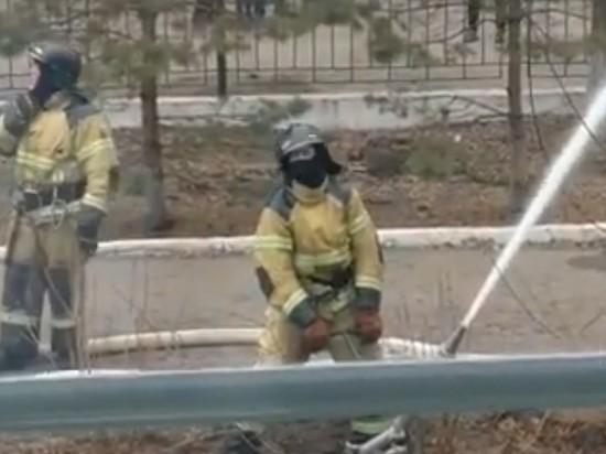 В Интернет попало видео из операционной кардиоцентра в Благовещенске, снятое во время пожара