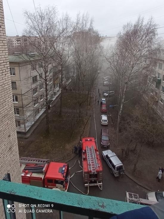 При пожаре в квартире на Демьяна Бедного погиб мужчина
