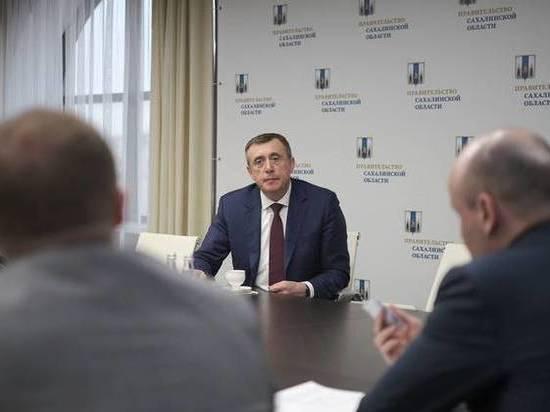 Сахалинский губернатор обсудил с инвестором создание нового порта