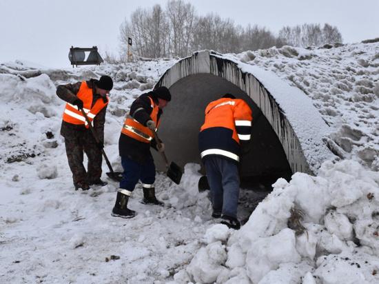 Противопаводковые мероприятия на Алтае завершены на 98%